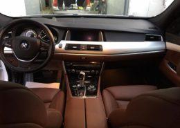 Detailing auto de interior bord